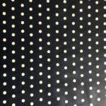 Lätzchenstoff dunkelblau Punkte