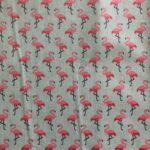 Lätzchenstoff Flamingo